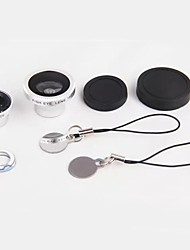 3 in 1 Magnet Adsorption 180-degree Viewing Angle Fisheye Mobile Phone Lens