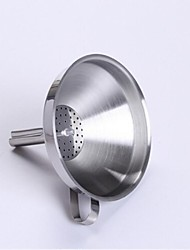 Stainless Steel Funnel,Stainless Steel 20×10×10 CM(7.9×4.0×4.0 INCH)
