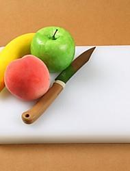 retangulares tábua de cortar plástico espessa, de plástico 27 × 21 × 2,5 centímetros (10,7 × 8,3 × 1,0 polegadas)