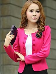 shangfei ™ de moda de doble botonadura de vestir exteriores delgada de las mujeres (más colores)