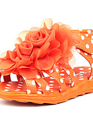 Baby Shoes - Casual - Sandali - Finto camoscio - Blu / Rosso / Bianco / Arancione