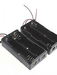 caixa de bateria para 18.650 baterias (2pcs)