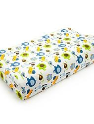 "20""×12"" Paradisaea Contour Memory Foam Pillow With Joy Cartoon Cotton Cover For Children Ages 6-16"