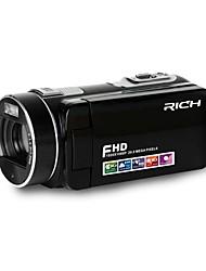 """HD DVR rosto detectar câmera de ação zoom 16x 3 """"TFT LCD da câmera anti-shaking mini-dv câmera de vídeo camcorders (sem bateria)"""