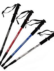 Gianda ® profissionais pólos liga de alumínio de amortecimento caminhadas telescópica 50 ~ 110 centímetros g101