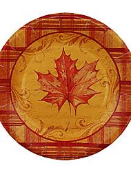 maple leaf pattern monouso piatti di carta 20pcs / bag