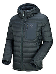 Shehe Winter Men's Windproof Cold Protection Thermal Down Jacket
