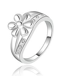 Women's Silver/Cubic Zirconia Ring Cubic Zirconia Silver/Cubic Zirconia