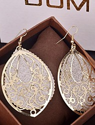 Women's Drop Earrings Statement Jewelry Oversized Costume Jewelry Alloy Drop Jewelry For Party Special Occasion Birthday Daily
