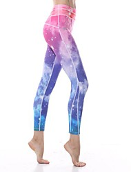 Yokaland Yoga Ankle Legging with Star Sky Print