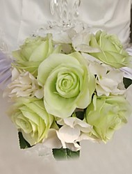 Elegant Fresh Rose Wedding Bridal Bouquets(More Colors)