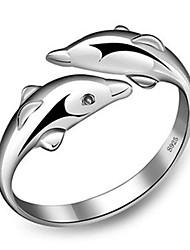 XSJ Women's 925 Silver Fashion Rings