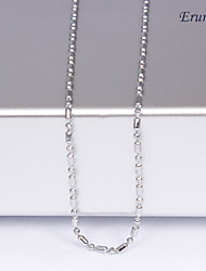 Silver Chain Necklaces Wedding / Party / Daily / Casual / Sports Jewelry