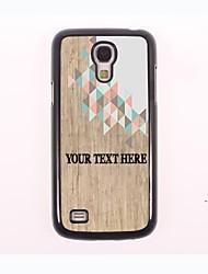 caja del teléfono personalizado - el caso del diseño de metal raro para Samsung Galaxy S4