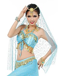 Belly Dance Stage Props Women's Performance / Training Polyester / Metal Tassel(s) Belly Dance / Performance