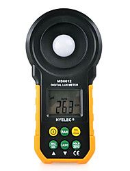 luxímetro digital de medidor portátil ms6612 hyelec multifunções para medição de iluminância luz