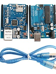 UNO R3 модуль доска + Ethernet щит W5100 модуль для Arduino