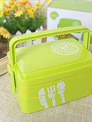 Kitchen Plastic Lunch Box