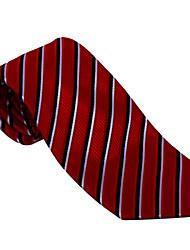 Black&Red Striped Tie