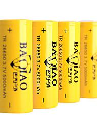 5000mAh 26650 Rechargeable Battery Yellow(1pcs)