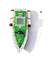 Fisher 200m verde remoto barco de pesca mini-rc isca duas horas