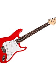 ST + + Wrench + Crank Connecting Large Red Electric Guitar + Straps, Dial + Package