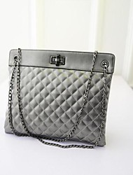 Women's Fashion Office Lady Quilted Shoulder Tote