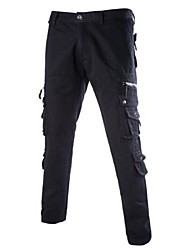 Men's Casual Trend of Korean Straight Overall Tooling Pants