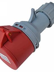 TOWE IPS-S516 Waterproof Industrial Connector Female Industrial Socket 220V-380V/240V-415V 16A 3P+N+E IP44 6H 1-2.5mm²