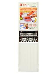 YH5998 Kitchen Fruit / Vegetable Planer Slicer Grater - White