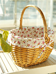 Country Style Willow Easter Basket