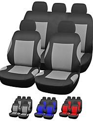 universelle de l'ensemble complet housse de style accessoires intérieurs automobiles siège d'auto couverture du pgb trois couleurs disponibles