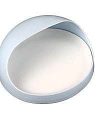 Household Half Opening Adsorbent Soap Holder Box - Light Blue + White