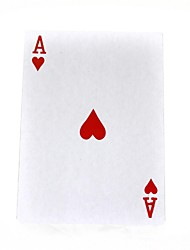 grandes cartes de poker - multicolore