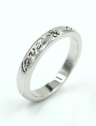 Women's New Silver Alloy Fashion Casual Rings