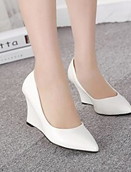 Women's shoes Pointed Toe Wedge Heel Pumps Shoes