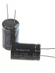 электролитический конденсатор 4700uF 63V (2 шт)