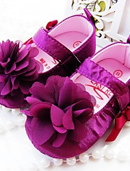 Girls' Shoes Round Toe First Walkers Flat Heel Flats with Flower Shoes More Colors available