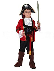 fraîches capitaine pirate enfants costume d'Halloween