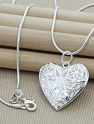Pure High Quality Elegant  Heart Necklace