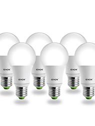 4 pcs E26/E27 5 W COB 400-450 LM Natural White A Globe Bulbs AC 100-240 V