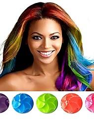 nouvelle forme de boule de la mode temperary non toxique craie teinture des cheveux pastel pour la dame (plus de clors)