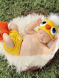 1 pcs baby's Photography Props Newborn Duck Design handmade Crochet Knit for 3-12 month