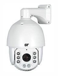 GT VIEW 2.0MP 1920*1080P 20X Zoom(4.7-94mm) Onvif Waterproof IP66 PTZ IR IP High Speed Dome Camera