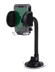 Weifeng S544 a prueba de golpes coche antideslizante parabrisas titular de montaje giratorio para el móvil / PDA / GPS (negro)