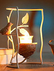 European Style Bird Candle Holder