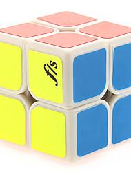 fs® crianças / adultos brinquedos quebra-cabeça de plástico branco 2x2x2 mágicos