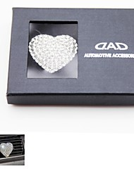 LEBOSH®Set Auger Metal Heart  Car Perfume Seat