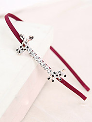 Women's Korean Style Rhinestone Hair Band