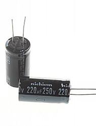 elco 220uF 250v (2 stuks)